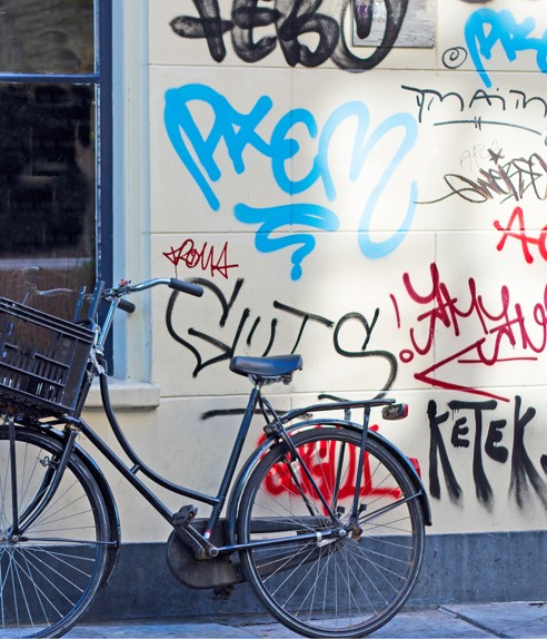 Graffitibeseitigung
